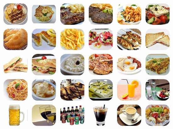 Zakros, กรีซ: menu