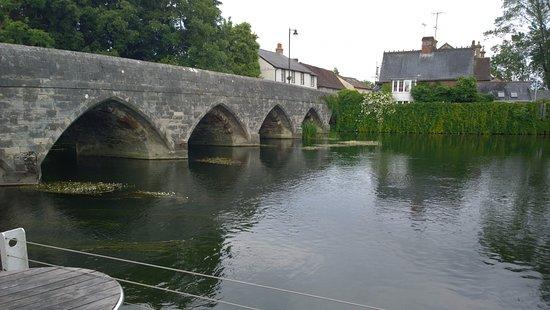 Fordingbridge, UK: view of river