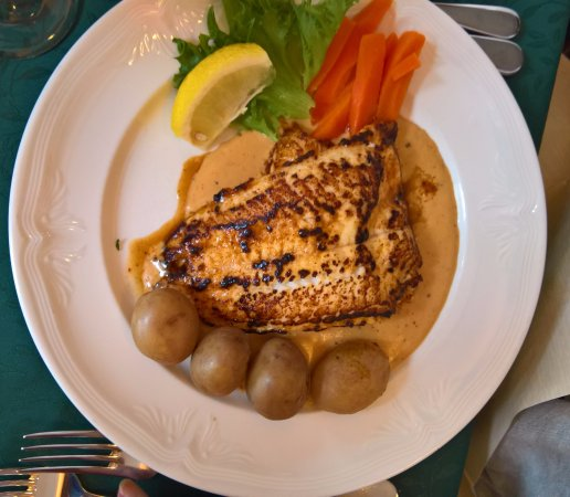 3 Frakkar: Pan-fried fillet of Plaice
