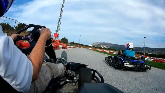 MegaDrive Go Kart: snapshot n1 from my go pro cam