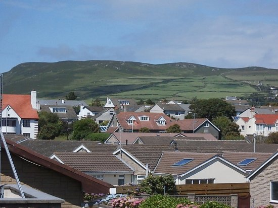 Cherry Orchard Apartments: Watch the weather coming over the hills