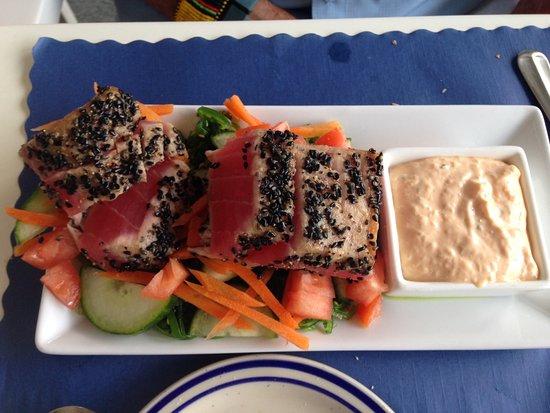 Solomons, MD: Ahi Tuna Appetizer