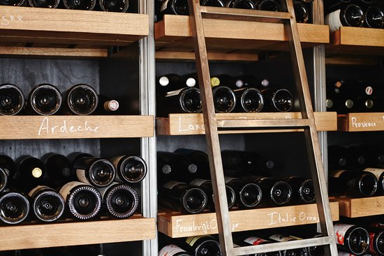 Bak restaurant: We have over 500 different bottles of natural wine in our homemade climate cabinet