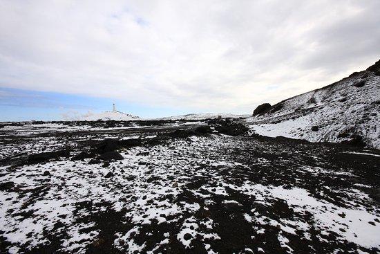 Grindavik, Iceland: Felsformationenn am Atlantik