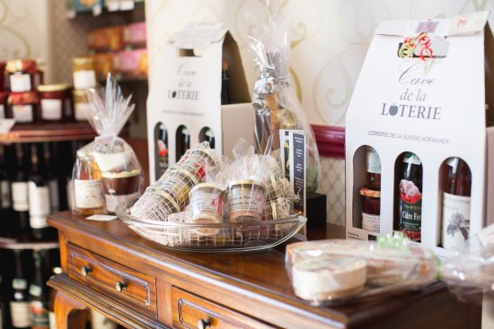 Vire-Normandie, France : Séléction de produits locaux