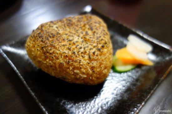 Chikugo, Japan: 焼きおにぎり