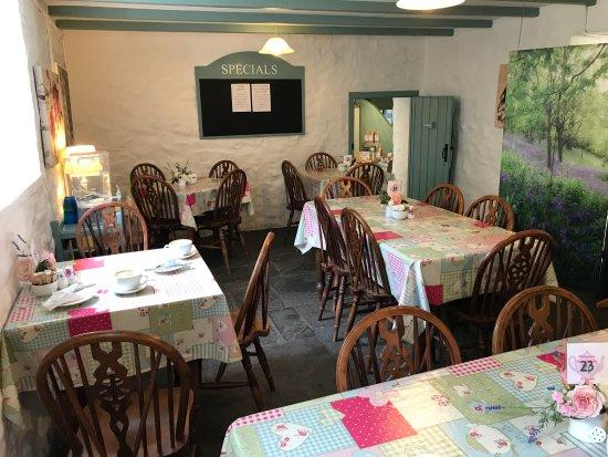 Amroth, UK: Lovely tea rooms.