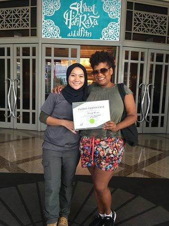My Balloon Adventure: I earned my certificate!
