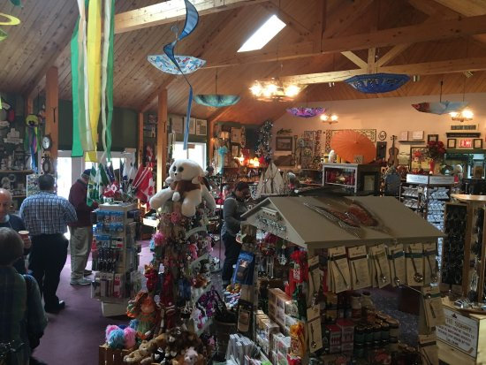 Hooked rug from Flora's - Picture of Flora's Gift Shop, Cheticamp ...