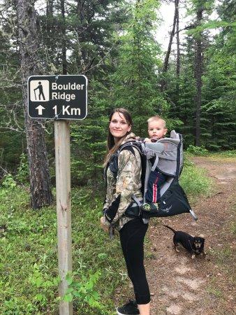 Dryden, Canada: Boulder Ridge Trail