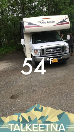 Talkeetna Camper Park: Great weather
