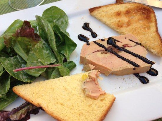 Monflanquin, فرنسا: foie gras maison!