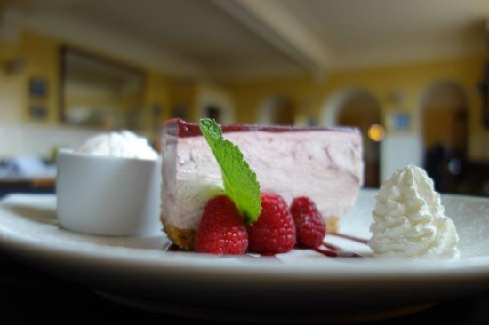 Cruden Bay (Port Erroll), UK: Cheesecake