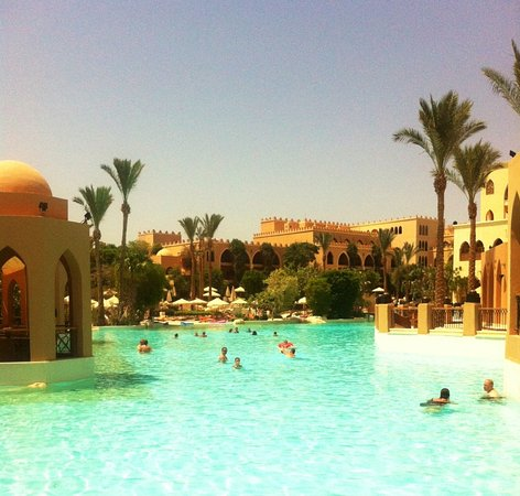 The Makadi Palace Hotel: Fun at the Pool in the Summer Sun