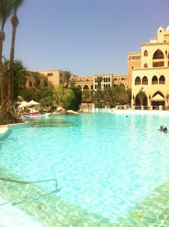 The Makadi Palace Hotel: Time for a cooling swim in the Summer Sun