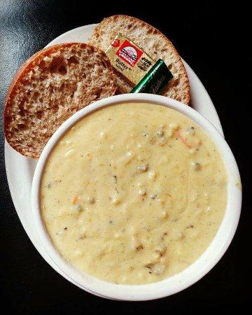 Hayward, WI: Wild Rice Soup