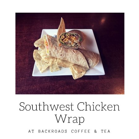 Hayward, Ουισκόνσιν: Southwest Chicken Wrap