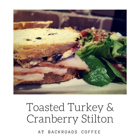 Hayward, Ουισκόνσιν: Toasted Turkey and Cranberry Stilton
