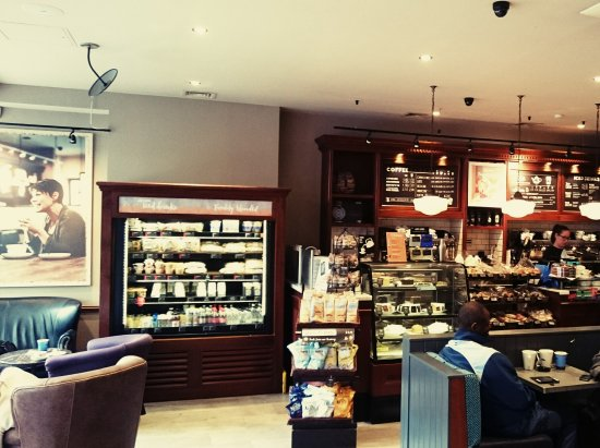 Great Breakfast Stop By Victoria Coach Station Review Of Caffe Nero London England Tripadvisor