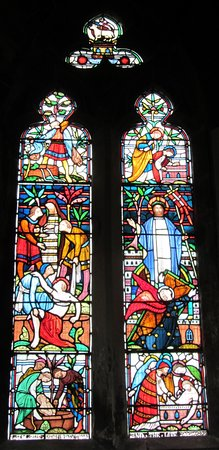 Wimborne Minster: window
