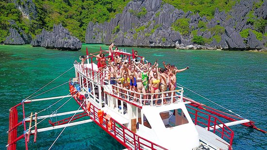 El Nido Party Boat