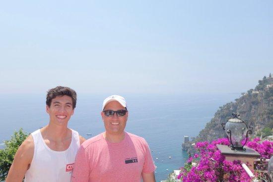 Positano Art Hotel Pasitea: our private balcony