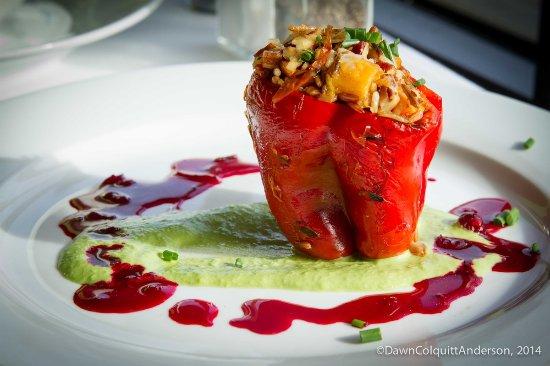 Watertown, MA: Stuffed Red Bell pepper