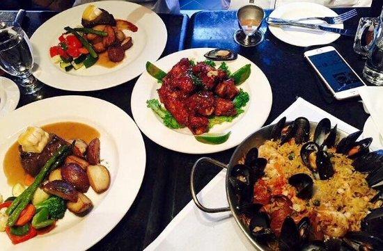 Restaurant Pub Le D'Orsay : Un menu varié aux couleurs internationales saura vous chermer