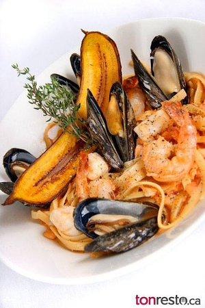 Restaurant Pub Le D'Orsay : Nos Pâtes aux fruits de mer et à toutes les sauces... délices copieux!