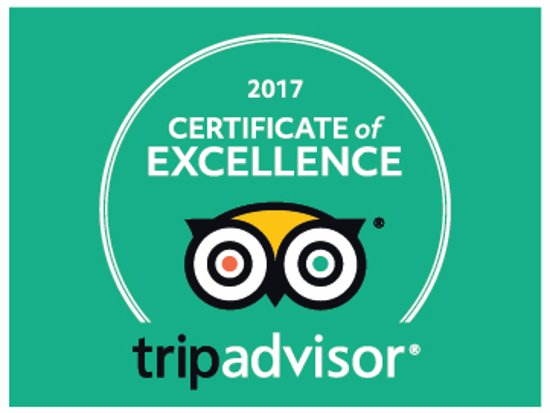 Westbourne House: 2017 Certificate of Excellence - our 4th year in a row!