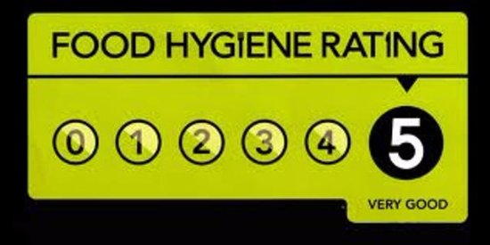 Westbourne House : 5 Star Hygiene Rating