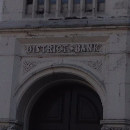 Doorway of the Natwest Bank, Burslem