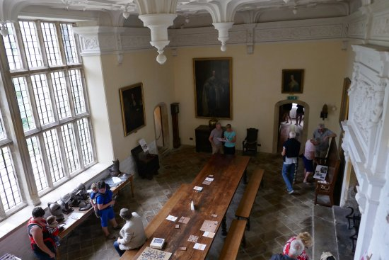 Newquay, UK: The main hall, taken from the Minstrel's Gallery above.