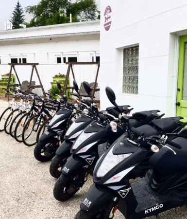 Union Pier, MI: 49cc Moped Rentals $89 Full Day (open to close)