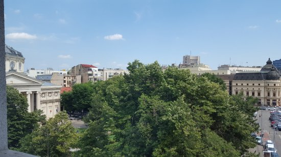 From our balcony towards Athenaeum