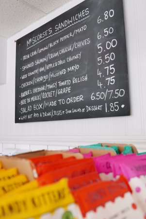 St Mawes, UK: Delicious Sandwiches