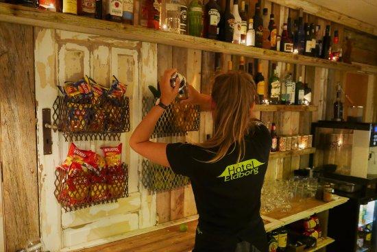 Borgarnes, Iceland: The Bar at the Hotel