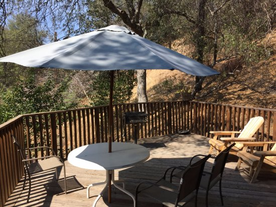 Sequoia Village Inn: il nostro deck