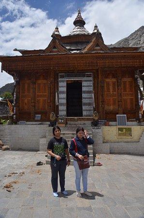 Sangla, India: Temple at Chitkul
