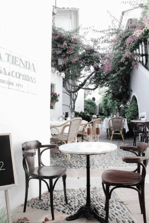 La Tienda : The gorgeous View we had from our table :)
