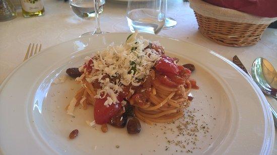 Calamandrana, Italia: spaghetti San Vito!! Un concentrato di bontà!!!!