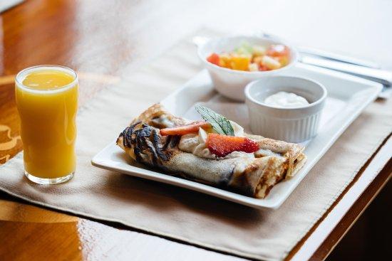 Tlell, Canadá: Breakfast at Haida House
