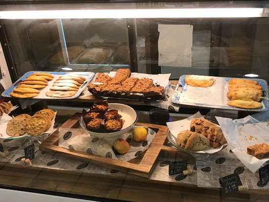 Clanton, AL: Peach muffins, scones, cookies, & other baked goods