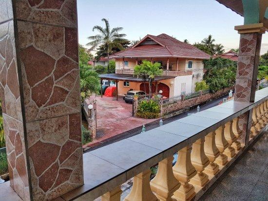 Villa Bananier : Balkon