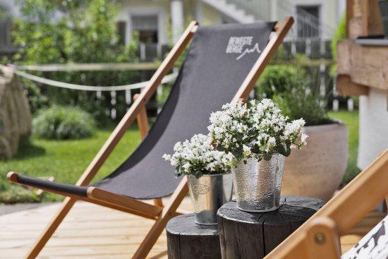 Зальфельден-ам-Штайнернен-Мер, Австрия: Relaxen im Garten