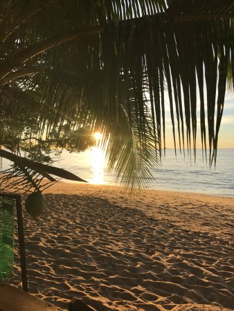 Tekek, Malaysia: Sunset by June on our beach