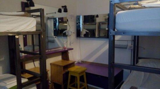 Ostello Bello: female dorm room