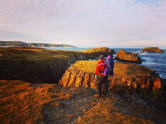 Bonavista, Canada: Hiking with a family