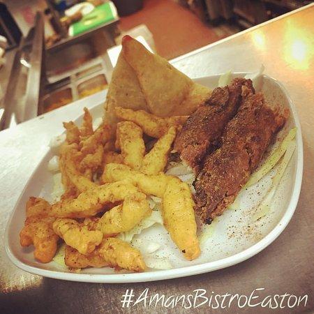 Aman 39 s indian bistro easton omd men om restauranger for Amans indian cuisine