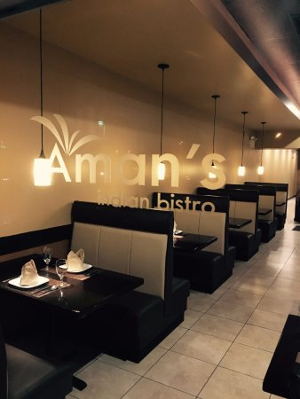 Amans Easton Interior. The Booths....